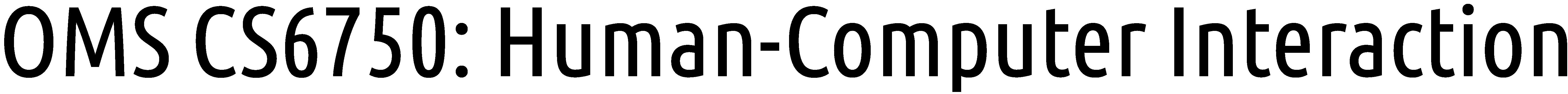 OMS CS6750